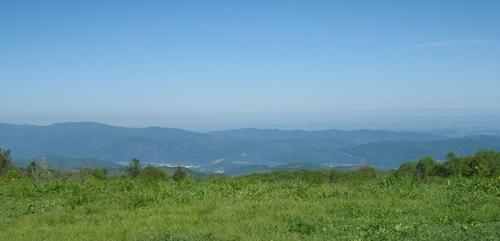 View from Beauty Spot Gap, Appalachian Trail