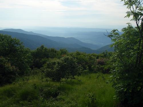 Appalachian Trail view near Silers Bald