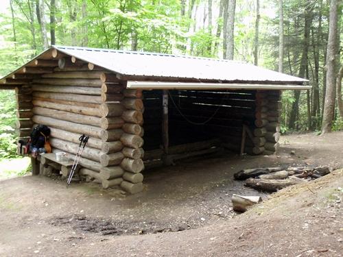 Roaring Fork Shelter, Appalachian Trail