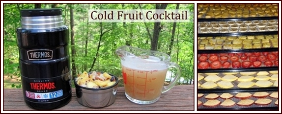 Fruit Cocktail for the trail.