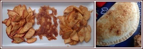 Backpacking Apple Desserts: Pumpkin-Spice Apples, Tortilla Apple Tarts.