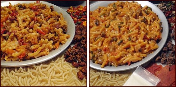Chili Mac and Macaroni with Cheesy Tomato Sauce