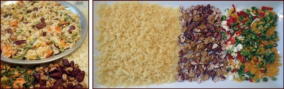 Backpacking Recipe: Easy Cheesy Rice & Beans.