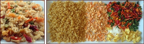 Backpacking Recipe: Hawaiian Shrimp & Rice