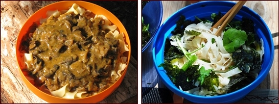 Backpacking recipes shared by readers of BackpackingChef.com.