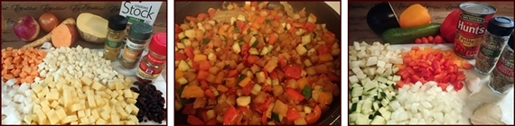Vegetable Stew Backpacking Recipes.