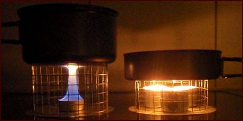 Tea Light Oven ~ Backpacking stoves