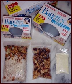 Food Storage Bags.
