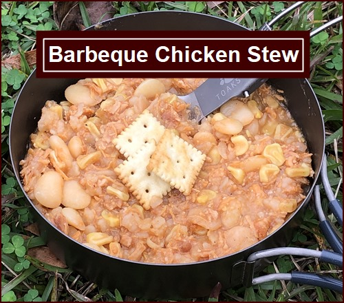 Backpacking Recipe: Barbeque Chicken Stew