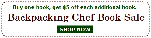Recipes for Adventure Book Sale. Buy one book, get $5 off each additional book.