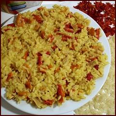 Dehydrated Chicken Recipe: Curry Chicken & Rice