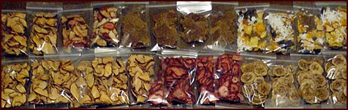 Dehydrated Fruit Packed in Individual Servings