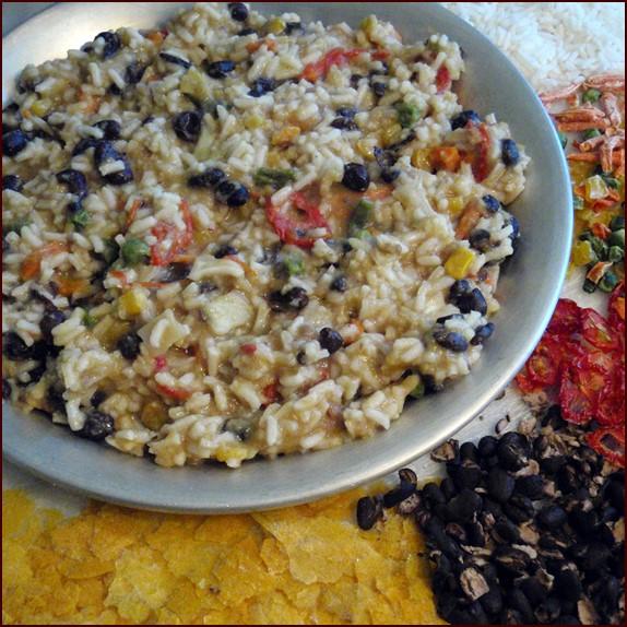 Vegetarian Corn Bark Stew Recipe