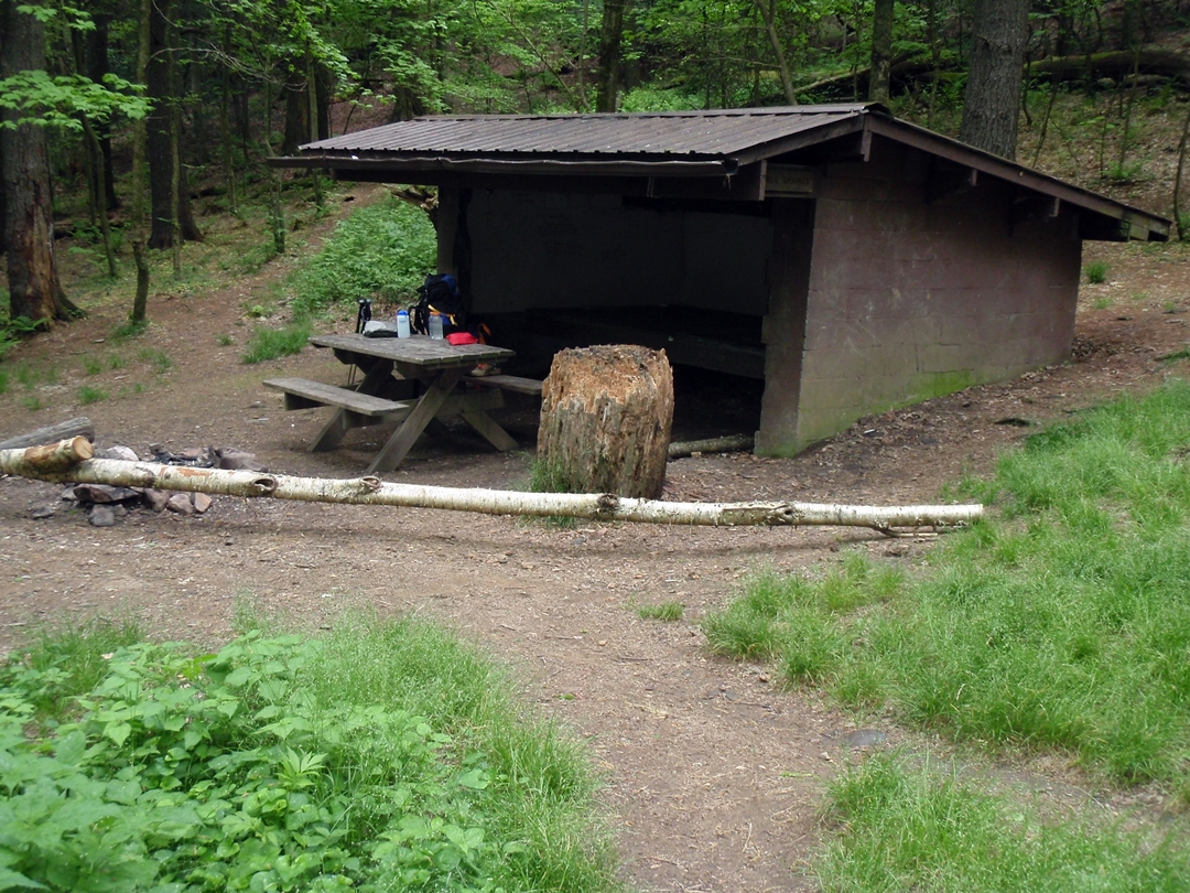 Double Springs Shelter, Appalachian Trail, Tennessee.