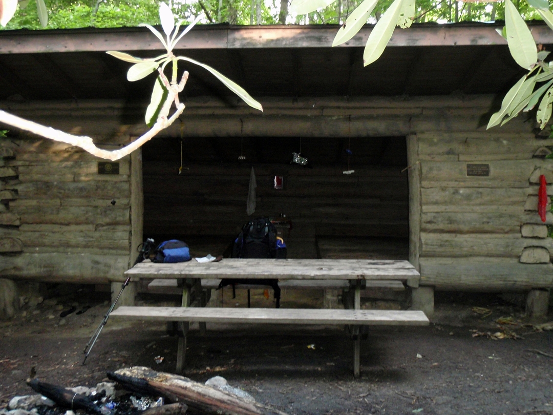 Flint Mountain Shelter, Appalachian Trail