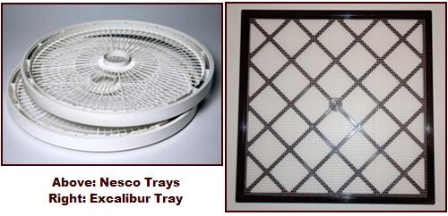 Nesco Food Dehydrator Trays.