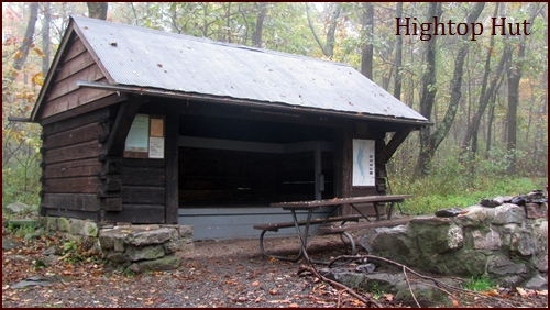 Hightop Hut, Appalachian Trail, Shenandoah National Park.