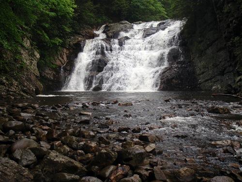 Laurel Creek Falls, Appalachian Trail