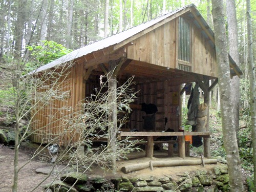 Appalachian Trail, Mountaineer Shelter