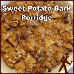 Sweet Potato Bark Porridge, great for breakfast or dessert.