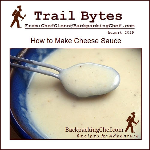 How to Make Cheese Sauce for a Backpacking Meal.