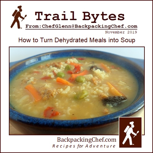 How to Turn Dehydrated Meals into Soup.