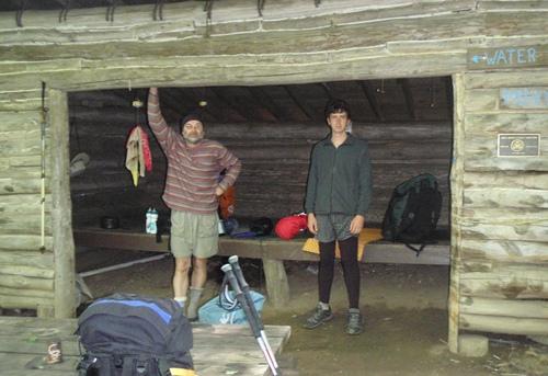 Hogback Ridge Shelter, Appalachian Trail
