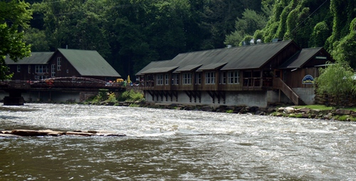 Nantahala Outdoor Center, River's End Restaurant.