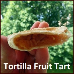 Backpacking Breakfast: Tortilla Fruit Tarts