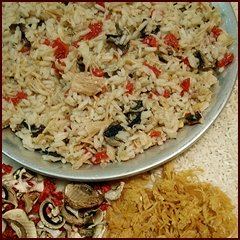 Dehydrated Chicken Recipe: Chicken & Rice Cacciatore