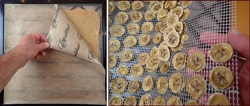 Dehydrating Bananas. Make banana fruit leather, banana chips, and deserts using dried bananas.