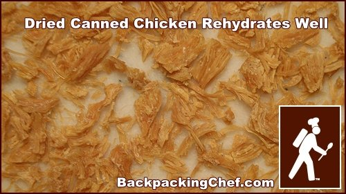 Dehydrating Chicken