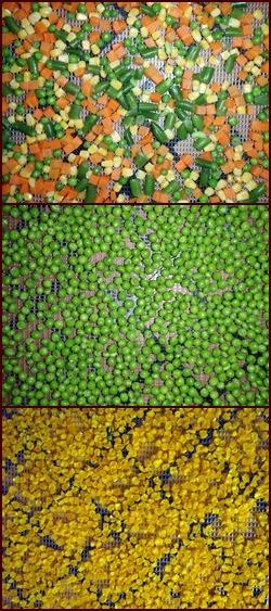 Dehydrating Frozen Vegetables