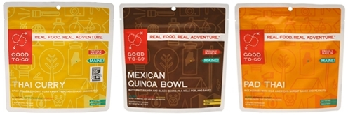 Good To-Go Vegetarian Dehydrated Meals