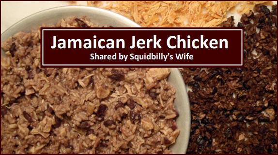 Chicken & Rice Backpacking Recipe: Jamaican Jerk Chicken.