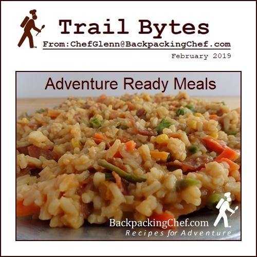 Backpacking Meal Recipe: Bean Bark Stew.