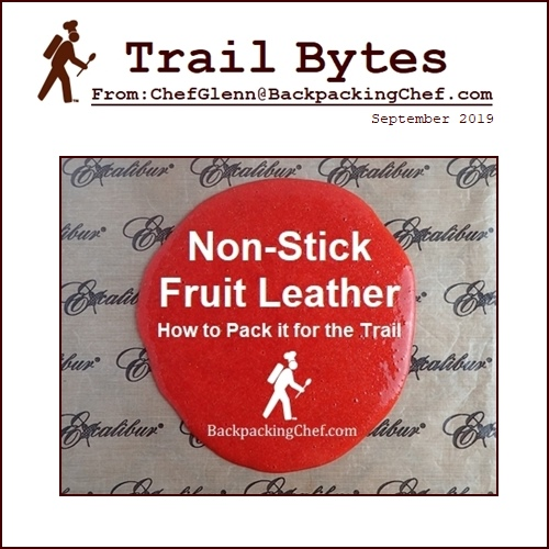 How to Make and Pack Fruit Leather.